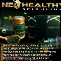 Unik neo healthy spirulina masker kapsul original - black walet Murah