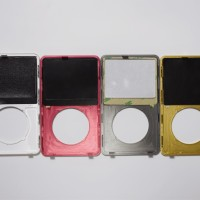 For iPod Video iPod Classic Front Housing Case Transparent Cover