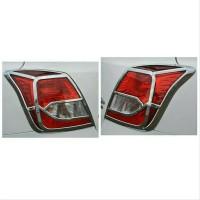 garnish lampu belakang/list chrome lampu stop datsun go variasi mobil
