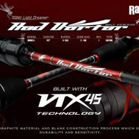 Joran Rapala Super Light Dreamer RRD651L RED DARTER Bait Casting Rod