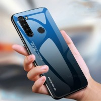 Gradient Glass Case Xiaomi Redmi Note8 RedmiNote8 Note 8 Back Casing
