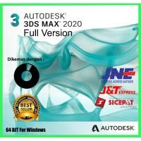 Termurah DVD Autodesk 3DS MAX 2020 Fullversion For Windows