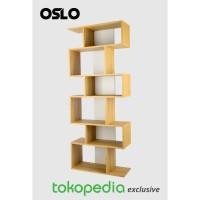 Tile Bookcase / OSLO / lemari buku