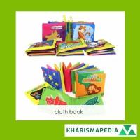 CLOTH BOOK / buku bantal bayi / buku cerita bayi bahan kain anak
