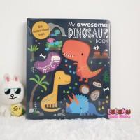 Buku Anak Import Edukasi Dino - My Awesome Dinosaur Book