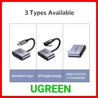 Ugreen Type C to Aux 3.5 mm and Type C Konverter Usb C to Aux 3.5 mm