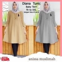 Tj 50746 Baju atasan JUMBO wanita muslim murah terlaris baju muslim
