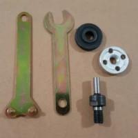 Arbor Gerinda Konektor Adapter Adaptor Ke Mesin Bor Drill