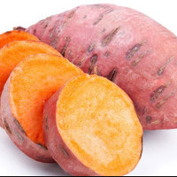Ubi jalar merah 500g buah sayuran hijau segar sehat harga grosir murah