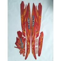 stiker striping yamaha mio sporty automatic 2008 merah