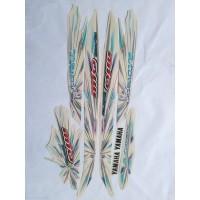 stiker striping yamaha mio sporty automatic 2008 putih