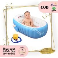 BAK MANDI ANGIN/INFLATABLE BABY BATH TUB (BABYBATH INTIME),SHENAR