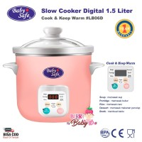 Baby Safe Digital Slow Cooker Multifungsi LB06D Perlengkapan MPASI
