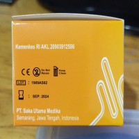 alcohol swabs sakamed antiseptic alkohol 2 Ply 70% Isopropyl 100 Pcs