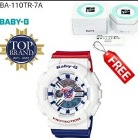 Jam Wanita Casio Baby-G BA110 & BA 110 ORI BM Rubber