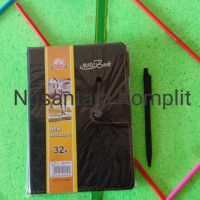 Note Book agenda kerja UK kertas A5 32k + pulpen