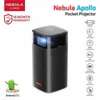 Proyektor Mini Anker Nebula Apollo Black - D2410G11