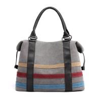 Tas Selempang Wanita Bahan Kanvas Premium - Hand Bag Kanvas - Hitam