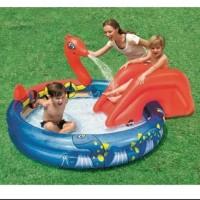 Bestway 53033 Viking Play Pool Kolam Renang Anak Ular Seluncuran