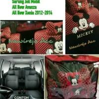 Sarung Jok Mobil Full Set 3 Baris All New Avanza/Xenia/Veloz 2012-2014