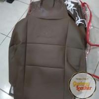 Dijual Sarung Jok Mobil Calya Sigra Bahan Oscar Warna Coklat Terbatas
