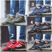 Sepatu Adidas Springblade AX2 Men Cowok Black Red Navy Green AX 2 Man