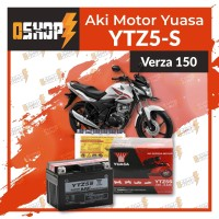 Aki / Accu Yuasa YTZ5-S MF Honda Verza 150,New Megapro FI