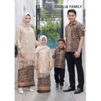 Baju Batik Sarimbit Kebaya Gamis Couple Family Keluarga Gamis Anak
