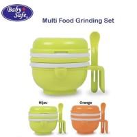 baby safe multi food grinding set food maker makanan bayi babysafe