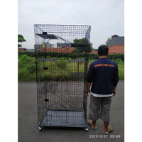 (Size 90x60x200cm) Kandang kucing tingkat 7 lantai