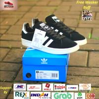 Sepatu Adidas Campus BZ0084 Black List White Original BNIB Indonesia