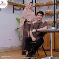 Baju Couple Muslim Pasanagn Barokah Moscrepe