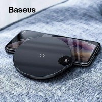 Baseus Wireless Charging Display LED 10W For iPhone X 11 11 Pro