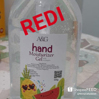 Redi 2 saja Hand Sanitizer 500ml merk A&G