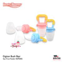 Lusty Bunny Star Fruit Feeder Gigitan Buah Empeng Buah Bayi DP2005