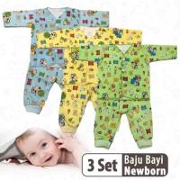 SNI Setelan Baju bayi anak laki laki perempuan 0-6 bln baru lahir