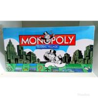 MONOPOLY GLOBAL VILLAGE Mainan Edukasi Anak