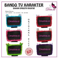 Sarung TV LCD LED Bando TV + Remote UKURAN 43 - 50 Inch