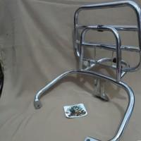 Back rack vespa Gts. aksesoris vespa