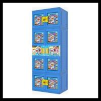Banting Harga Lemari Plastik Gantung Jumbo Naiba Doraemon 3D - 1854