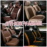 sarung jok mobil xenia rush ertiga apv wuling avanza airbag 2013 Mura