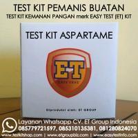 Test Kit Alat Uji Cepat Pemanis Aspartam atau Aspartame Best Seller
