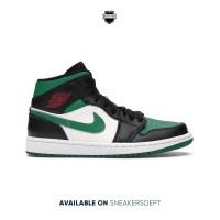 Air Jordan 1 Mid Pine Green
