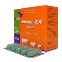 albenol - 300 bolus obat cacing hewan per biji