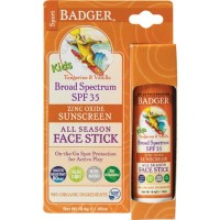 SALE EXP 04/20 - Badger Kids Sport Sunscreen Face Stick SPF 35 Diskon
