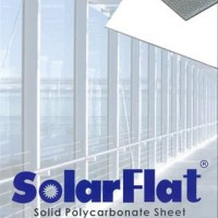 Atap Polycarbonate Solid SOLARFLAT 3mmQSQSXX