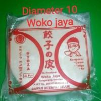 Kulit Gyoza nokawa,diameter 10cm,menerima pesanan partai besar/kecil