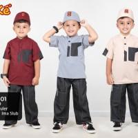 Kekesumut Koko Anak Baju muslim KP 20 01 size 8 tahun keke Busana