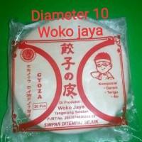 Kulit Gyoza diameter 10cm-Woko jaya.100% halal