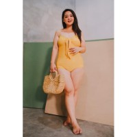 LAJOYA Puka Swimwear | Baju Renang Wanita | Yellow